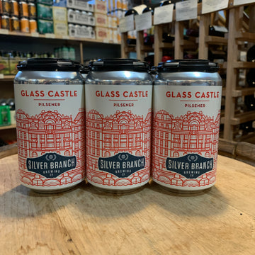 Silver Branch Glass Castle Pilsner