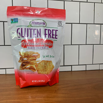 Milton's Gluten Free Fire Roasted Vegetable Crackers