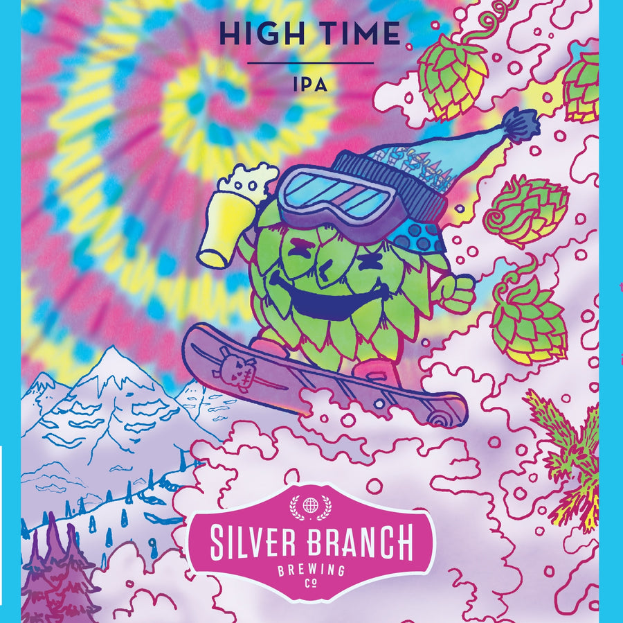 Silver Branch High Time Imperial IPA, 4 pk 16oz