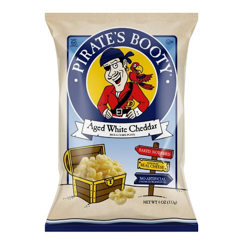 Pirate's Booty Aged White Cheddar Puffs - 4oz