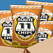Route 11 Lightly Salted Chips (2oz)
