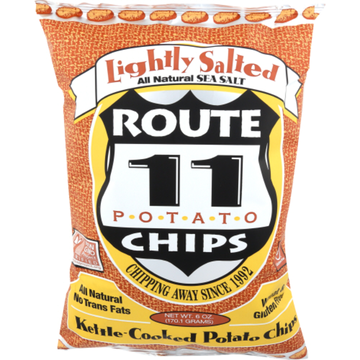 Route 11 Lightly Salted Chips 6oz