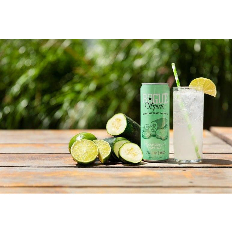 Rogue Cucumber Lime Gin Fizz (4 pack, 12oz cans)