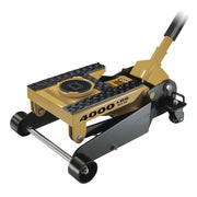 4000 Lb. 3-in-1 Garage Floor and ATV Jack with Tie-Down Straps