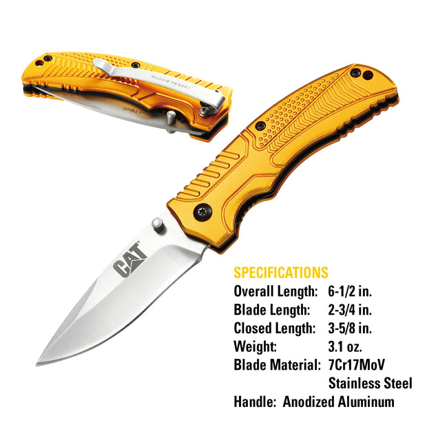 6-1/2 in. Drop-Point Folding Knife