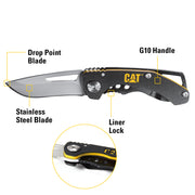 5 in. Drop-Point Folding Knife
