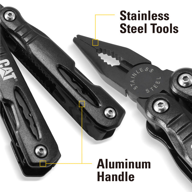 Cat 13-in-1 Multi-Tool Stealth Black Stainless Steel - 980021