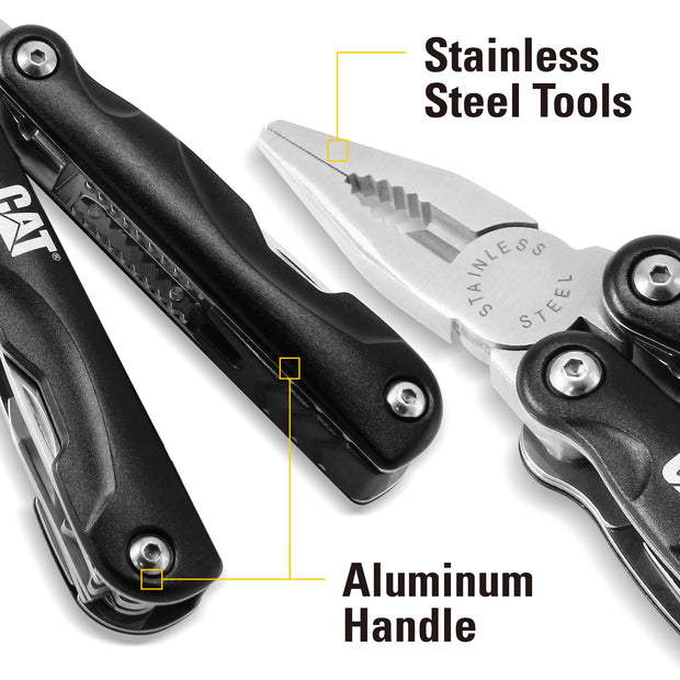Cat 13-in-1 Multi Tool Aluminum Handles Stainless Steel Tools - 980022