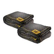 2 Pack Premium Woven Utility Padded Moving Blankets 80 in. x 72 in.