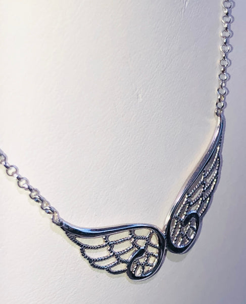 Nomination Sterling Silver Angel Wings  Italian Fashion Necklace Pendant