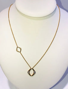 Nomination Sterling Silver Yellow Gold Plated Italian Necklace