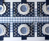 Load image into Gallery viewer, Stars on Navy Placemat