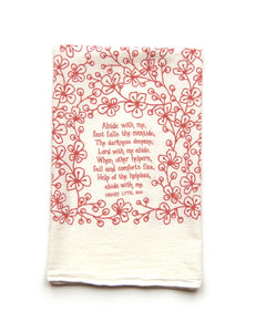 "Hymn Towel ""Abide With Me"""