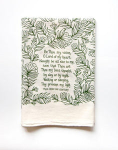 "Hymn Towel ""Be Thou My Vision"""