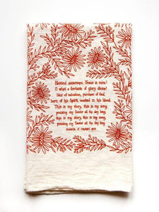 "Hymn Towel ""Blessed Assurance"""