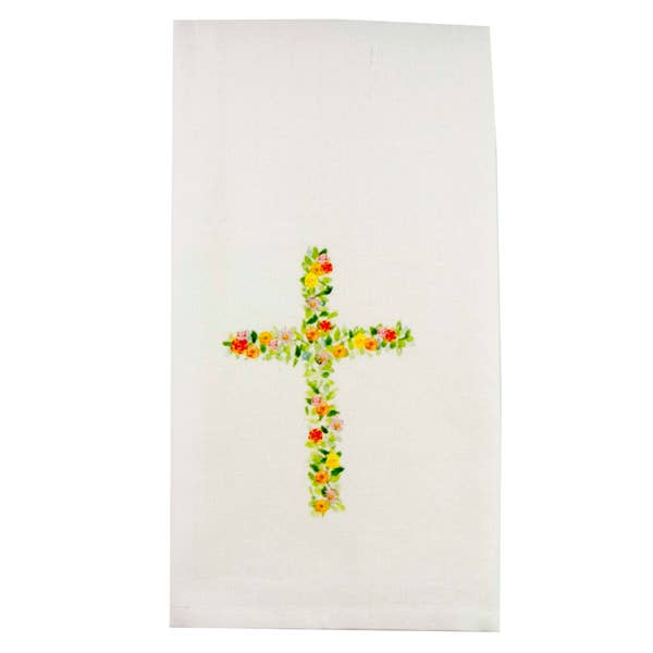 Cross Hand Towel