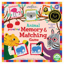 Animal Memory and Matching Game