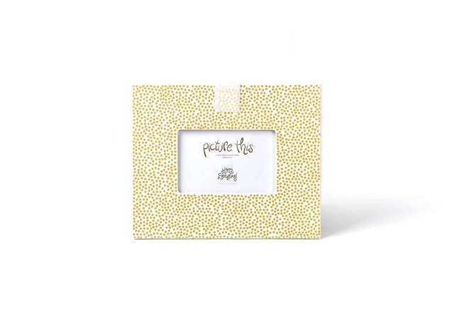 Happy Everything Mini Gold Dot Frame