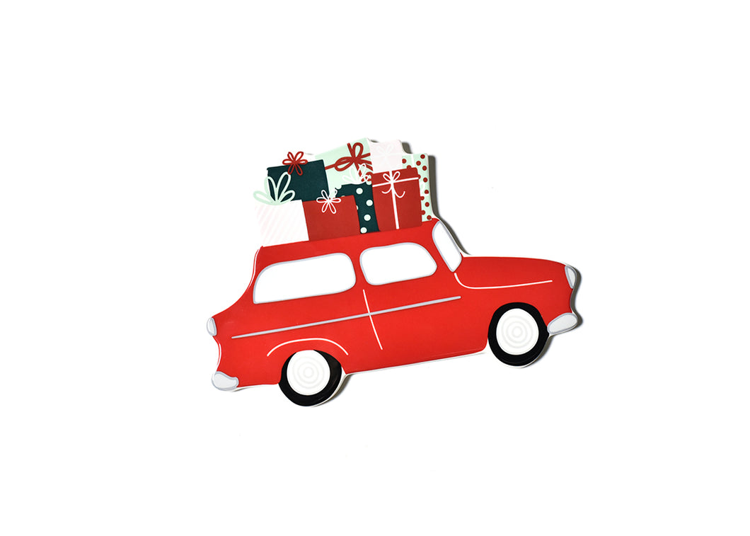 Happy Everything Attachment Holiday Car