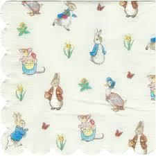 Peter Rabbit Dinner Napkins