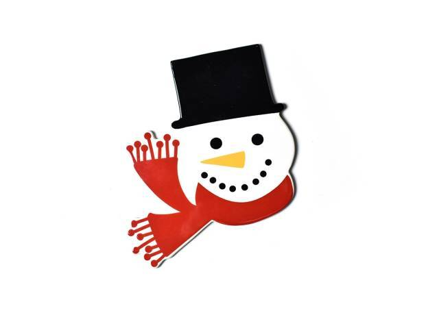 Happy Everything Attachment Top Hat Frosty
