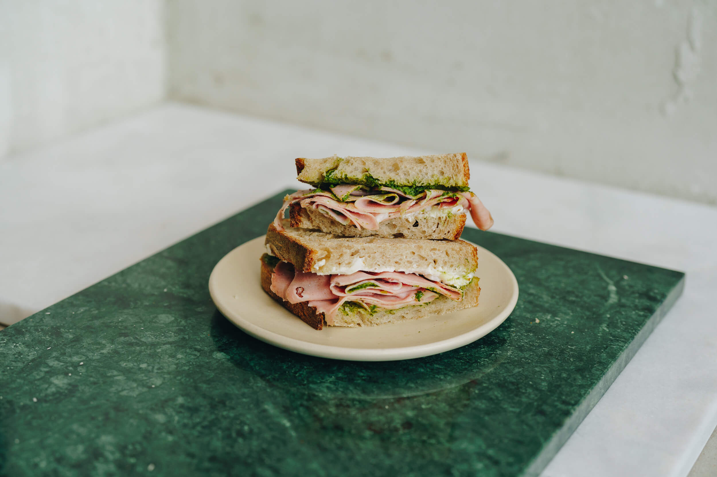 Public Space | Mortadella Sandwich | Food | Amsterdam Cafe | Food Delivery | Restaurant | Take Away | Pickup