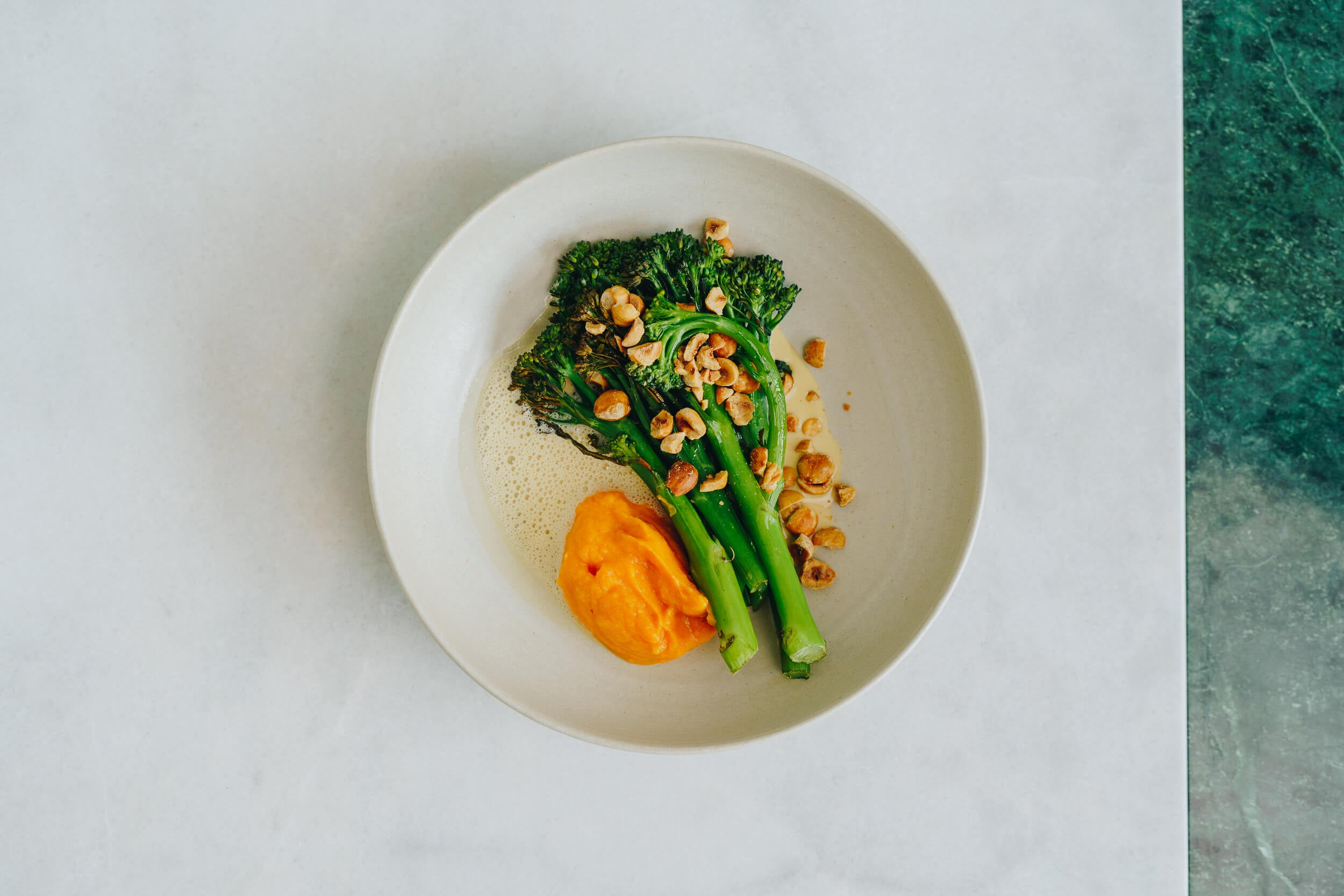 Public Space | Sprouting Broccoli | Beurre Blanc | Yam | Food | Amsterdam Cafe | Food Delivery | Restaurant | Take Away | Pickup