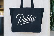 Load image into Gallery viewer, Public Tote Bag | Provisions | Merch | 100% Organic Cotton | Public Space Amsterdam