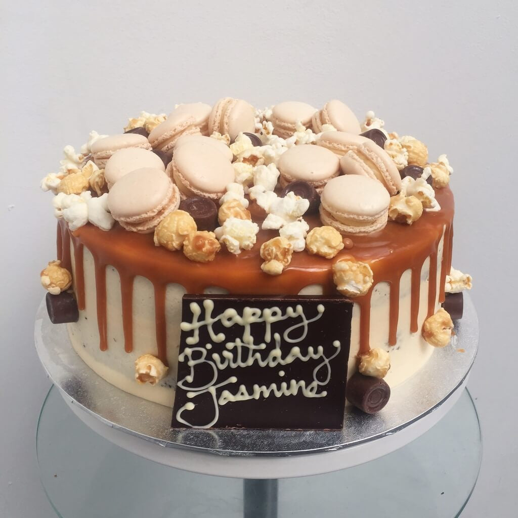 Macdreamy Salted Caramel Birthday Cake in Ealing