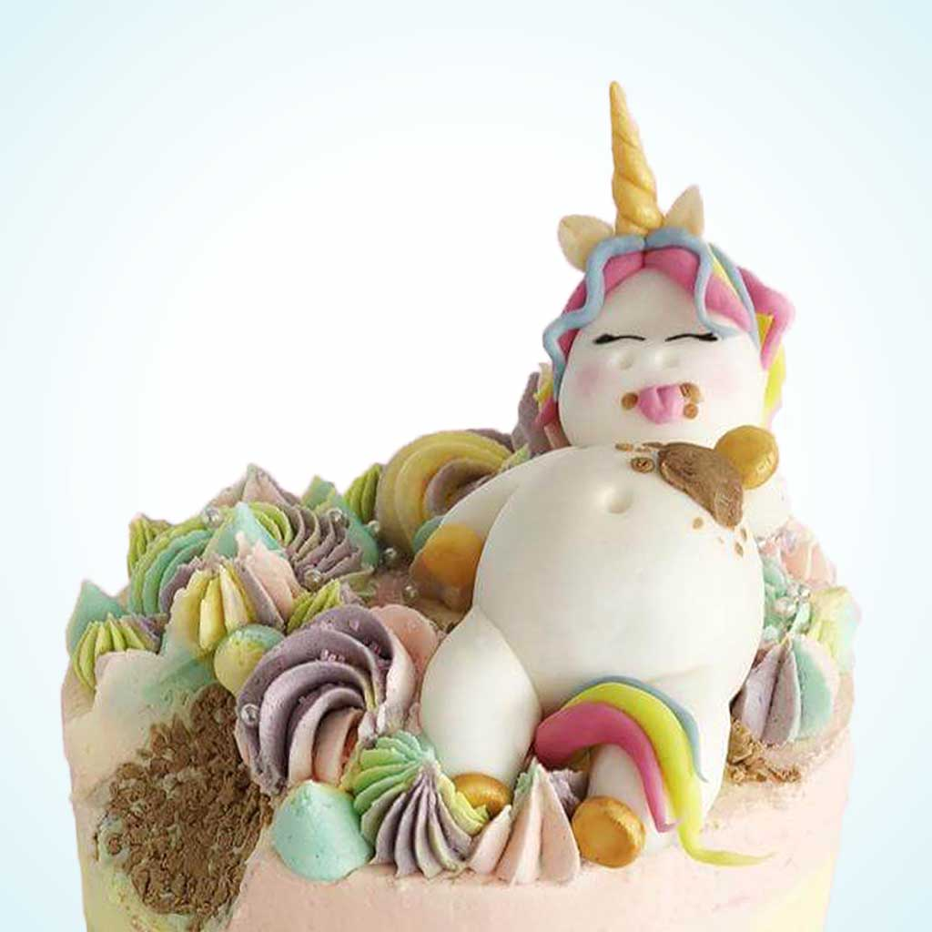 Bespoke Unicorn Birthday Cake