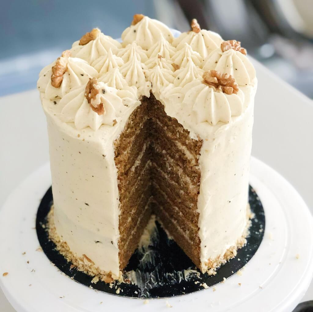 Coffee Cake With Coffee Cream Cheese Frosting Recipe