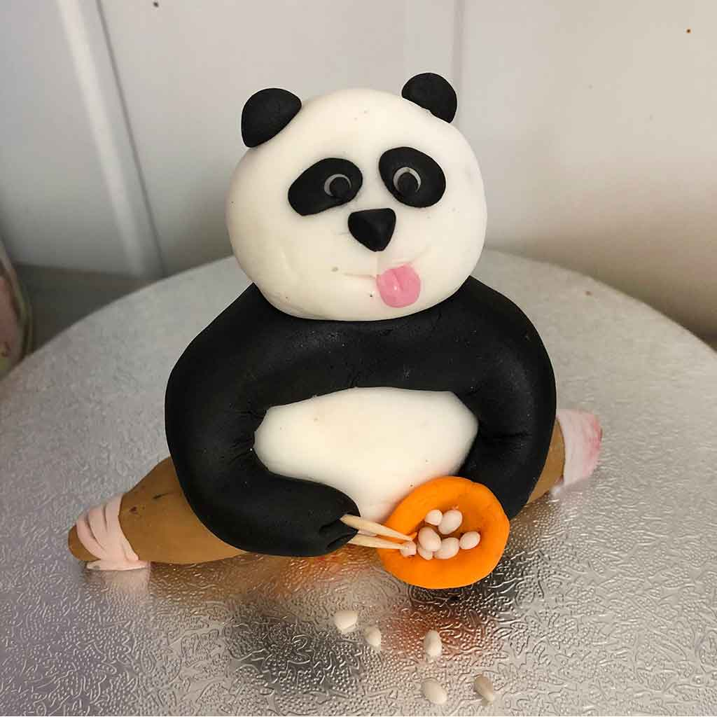 Kung Fu Panda Children's Birthday Cake
