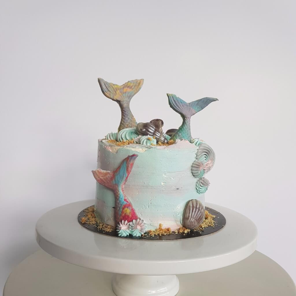 Little Mermaid Cake Recipe Anges De Sucre