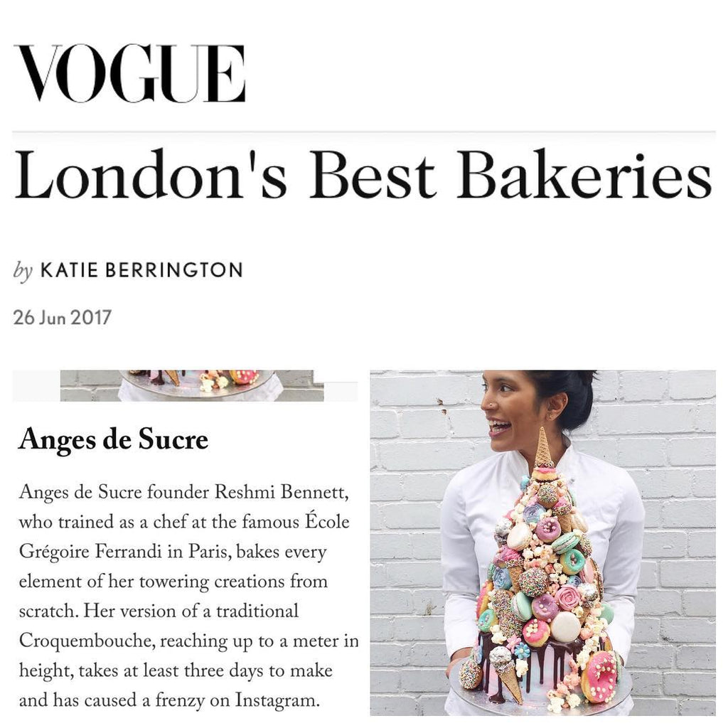 Vogue Best Bakery London