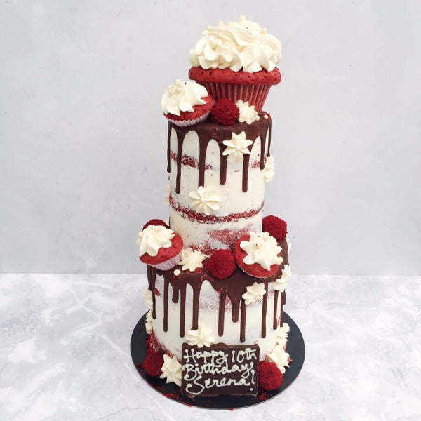 Red Velvet Birthday Cake London
