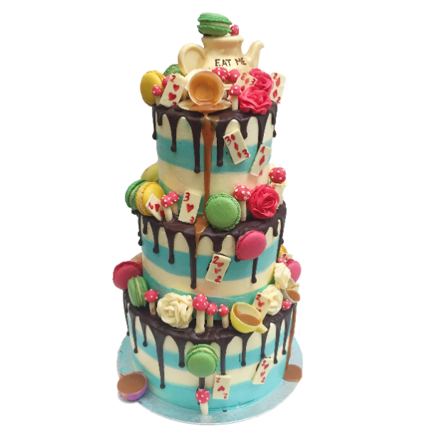 Alice in Wonderland Wedding Cake | Top Wedding Cakes London