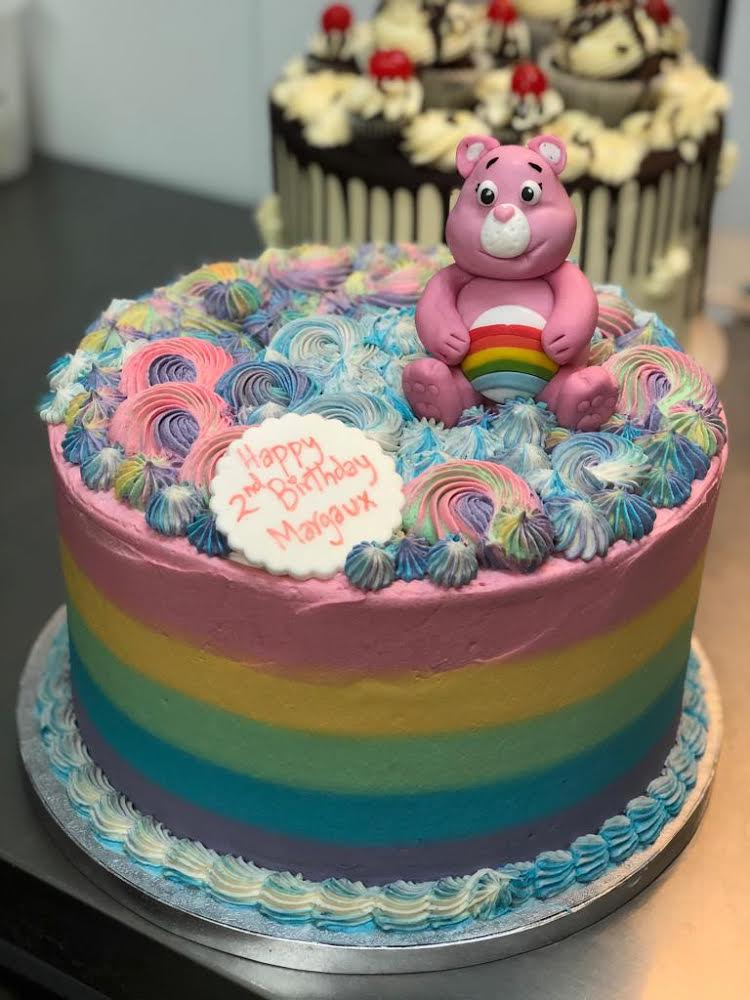 Bespoke Care Bear Cake London