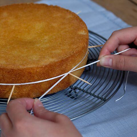 Baking Hack: Use Dental Floss To Perfectly Level Your Cake