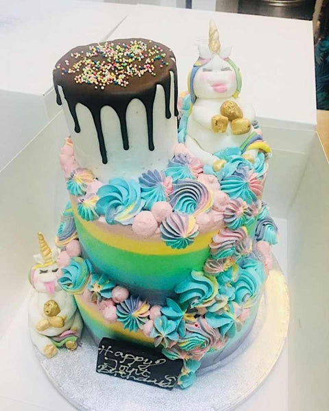 Bespoke Vegan Unicorn Cake London