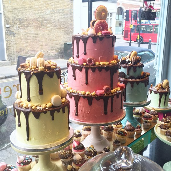 The BEST cakes in London!