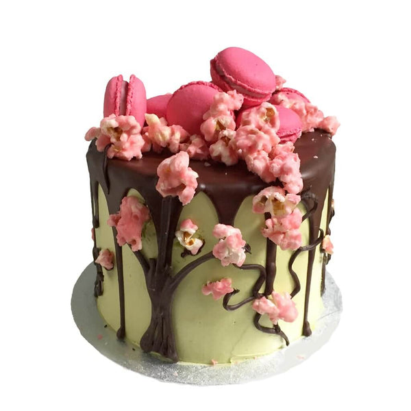 2 The Matcha Sakura Birthday Cake