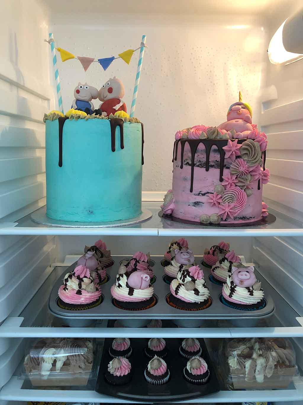 Birthday Cakes Stored