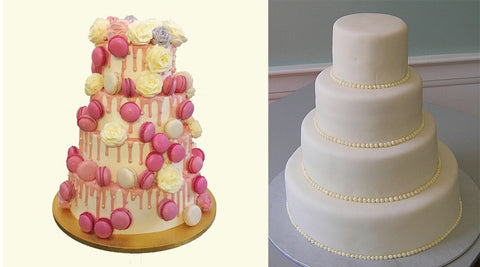 Buttercream versus Fondant Wedding Cakes