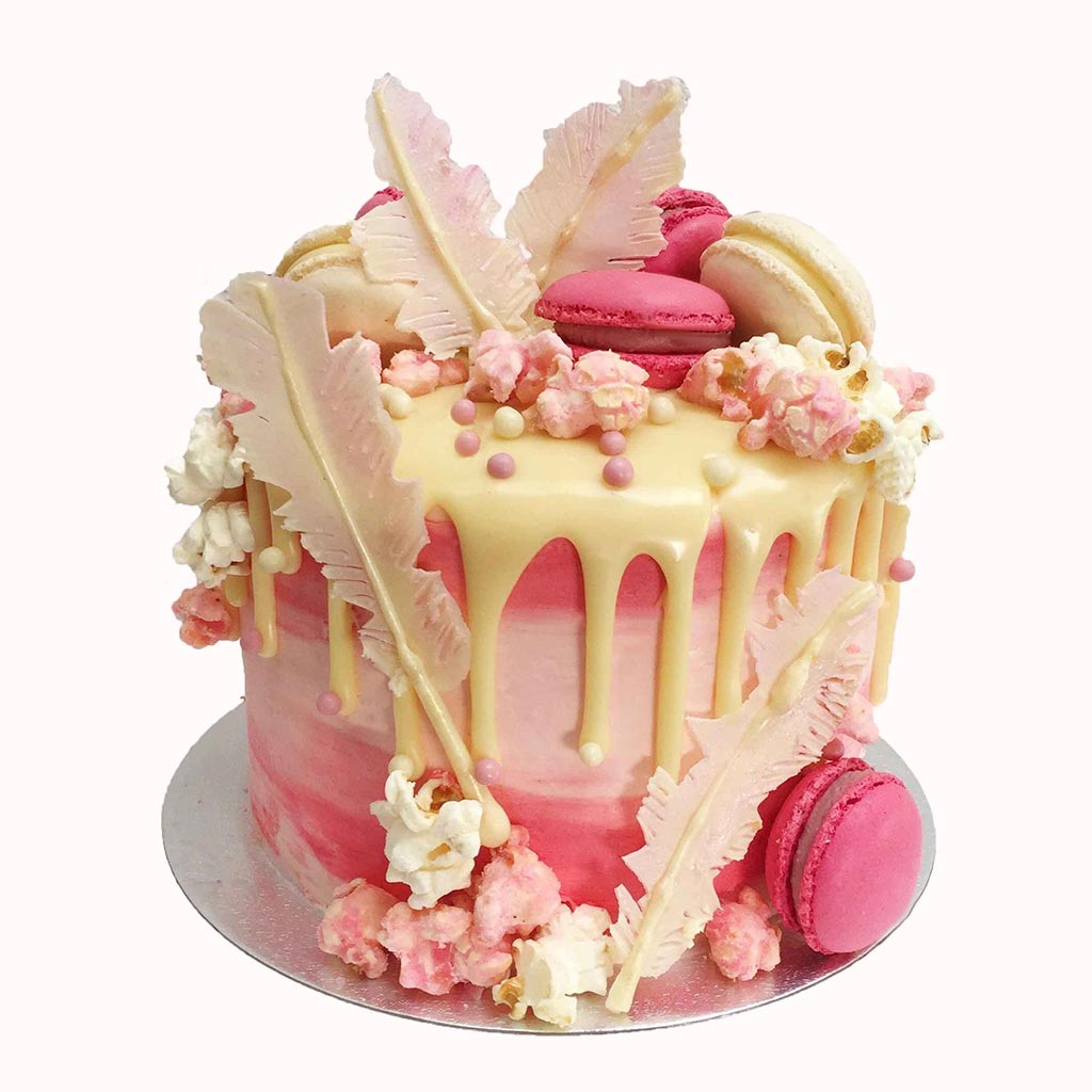 Wondrous Girly Birthday Cakes London Anges De Sucre Funny Birthday Cards Online Fluifree Goldxyz