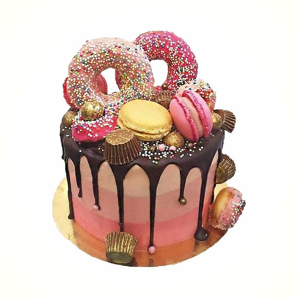 Sensational Introducing The Pink Wink Cake Anges De Sucre Personalised Birthday Cards Xaembasilily Jamesorg