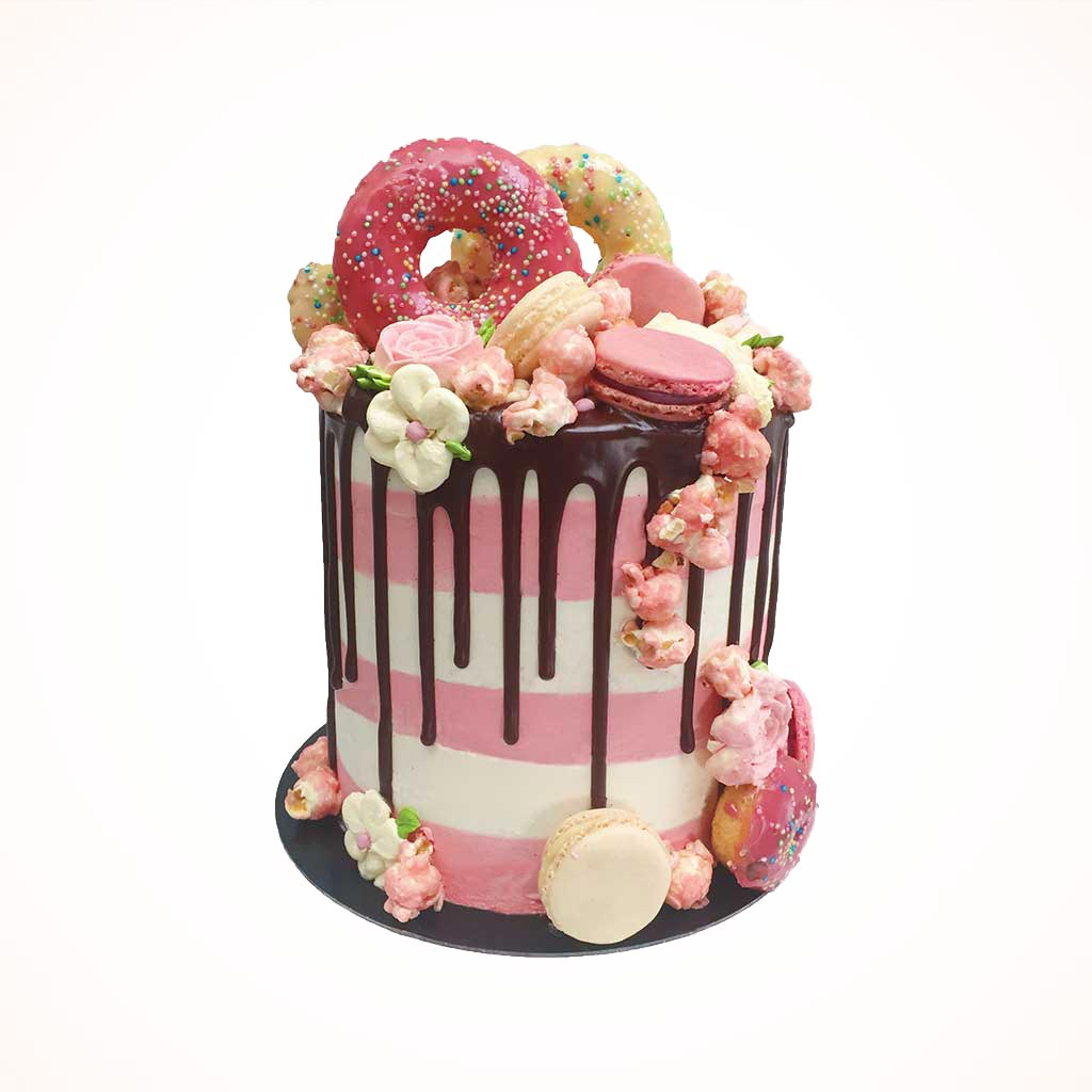 Outstanding Girly Birthday Cakes London Anges De Sucre Personalised Birthday Cards Beptaeletsinfo