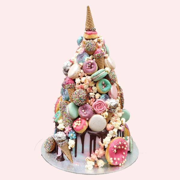 Horn of the Unicorn Croquembouche