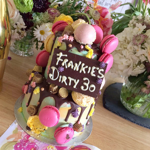 Superb Frankies Fun And Flirty 30Th Birthday Cake Funny Birthday Cards Online Fluifree Goldxyz
