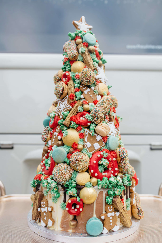 Merry Kitchmas Croquembouche - Chloe Lee Photography