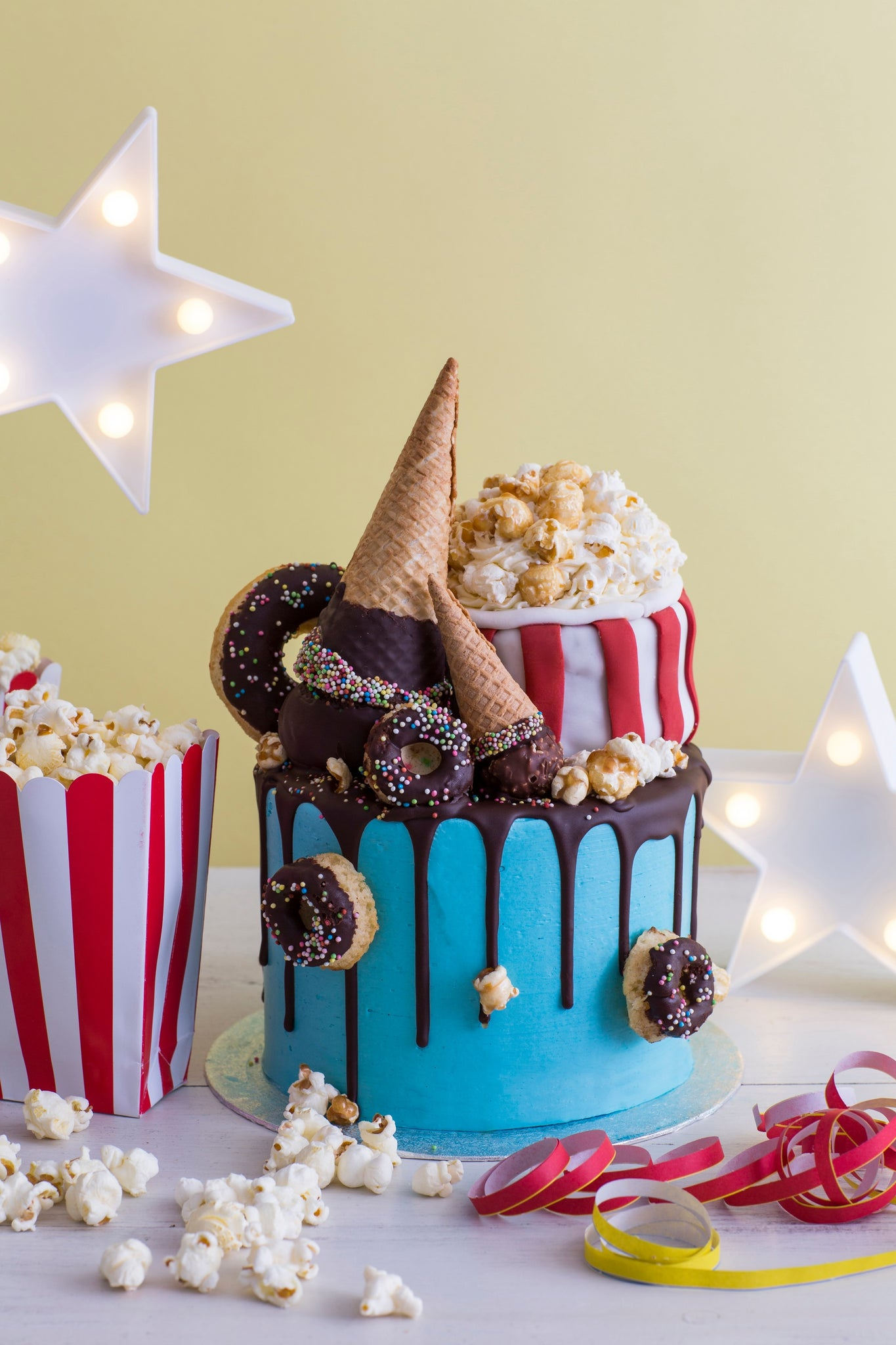 Netflix Movie Themed Birthday Cake London